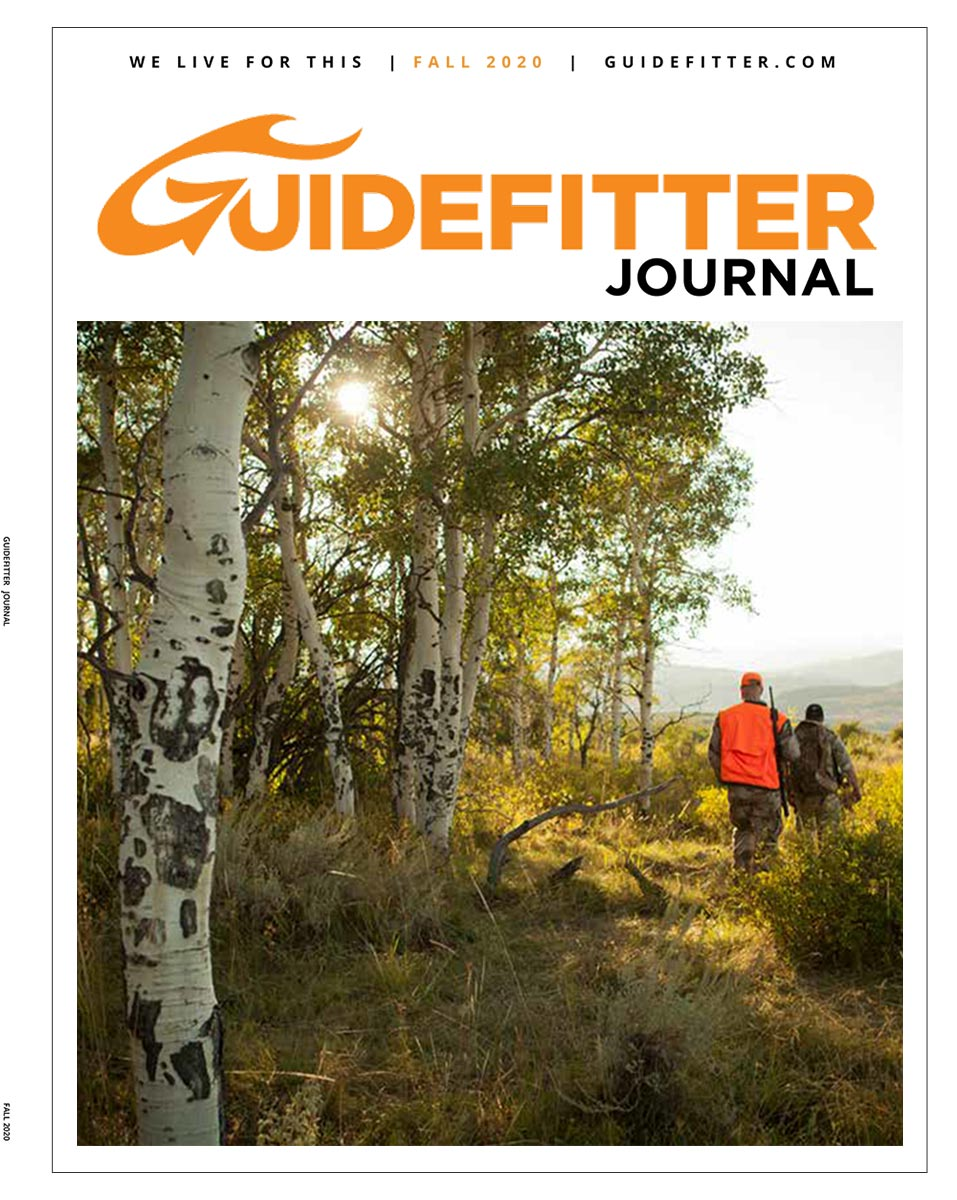 Fall Issue of The Guidefitter Journal Takes on Tough Topics